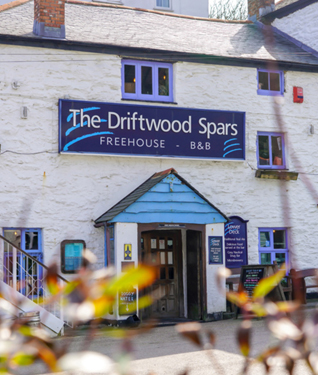 Driftwood Spas in St Agnes, Cornwall