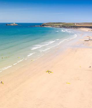 Gwithian Towans beach, Cornwall