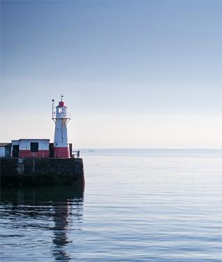 Newlyn Lighthouse, Cornwall
