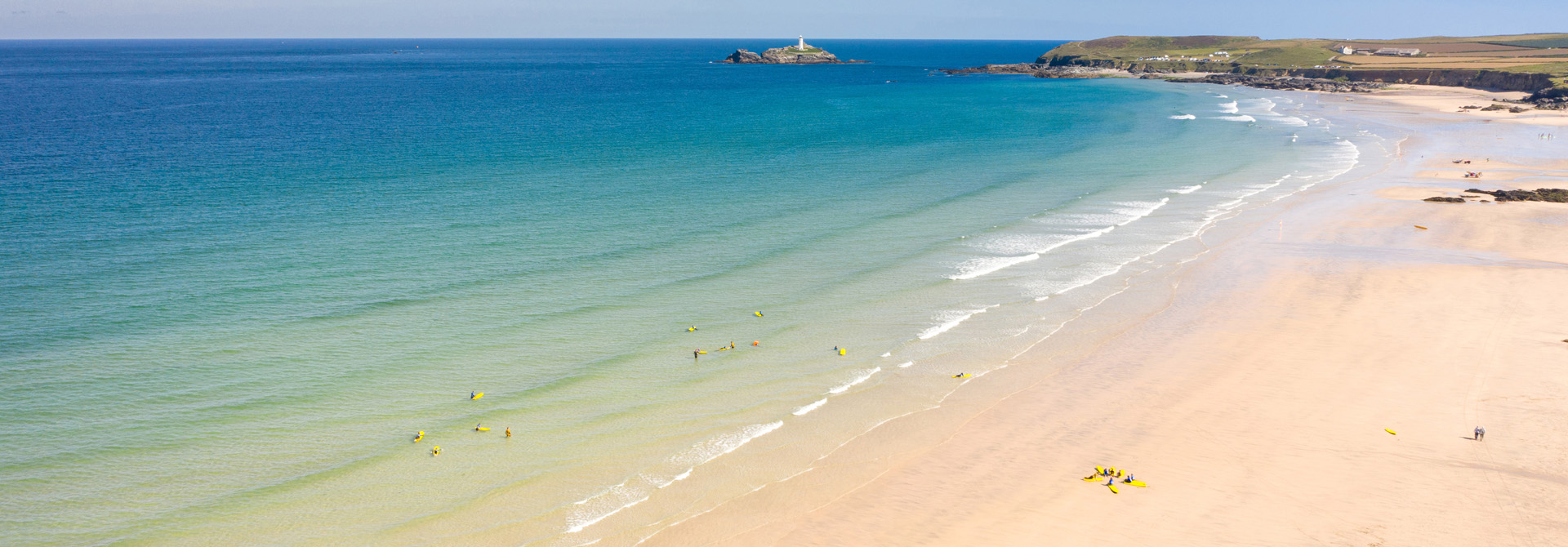 eBike Hire routes along the north coast beaches of Cornwall