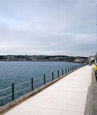 Penzance Promenade, Cornwall