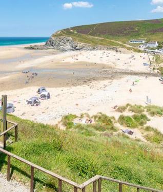 Porthtowan Beach, Cornwall