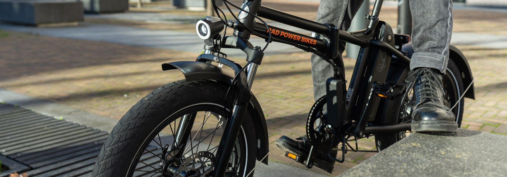 Go eBike Hire bike model Rad Mini Foldable