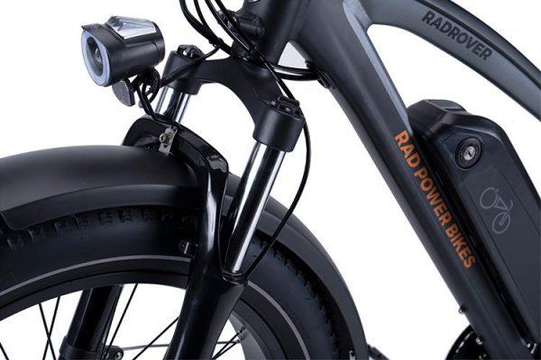 Go eBike Hire electric bike model Rad Runner Rhino 5 Front Suspension