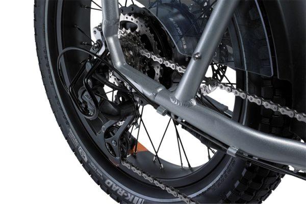 Go eBike Hire electric bike model Rad Runner Plus Gear Chain