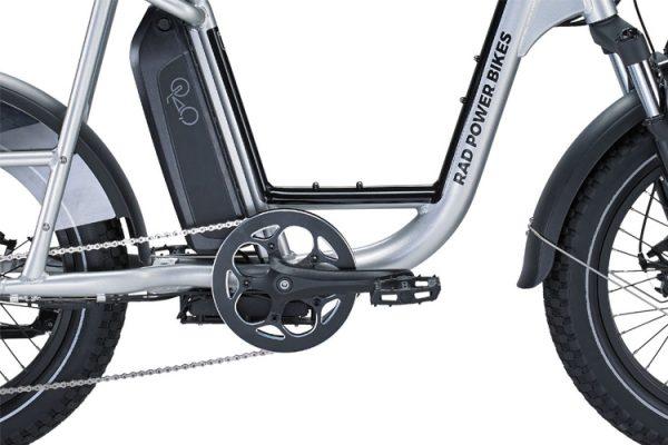 Go eBike Hire electric bike model Rad Runner Plus Low Entry Frame