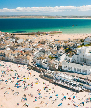 St Ives Town, Cornwall