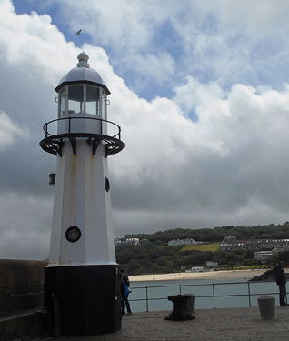 St Ives Lighthouse, Cornwall