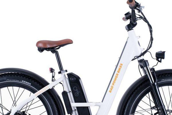 Go eBike Hire electric bike model Rad Runner Rhino Step Thru Low Frame