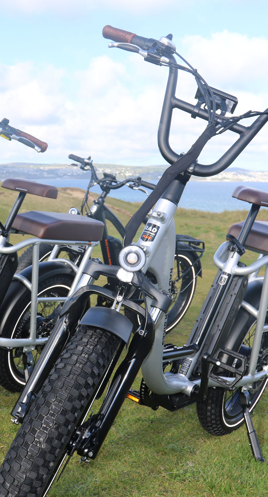 Fat Tyre eBikes to Hie from Gwithian Towans, Cornwall
