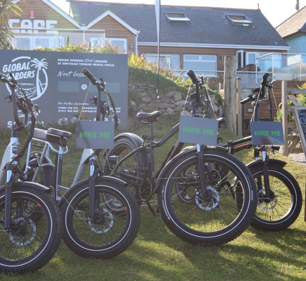 Single Day electric bike hire from Gwithian.
